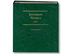 Jefferson Nickels 2007-Date, Vol. III LCA28