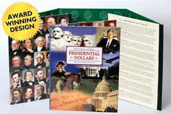 Presidential Dollars P&D Collection Folder LCF36