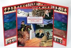 Presidential Dollars Deluxe Presentation Folder LMF2