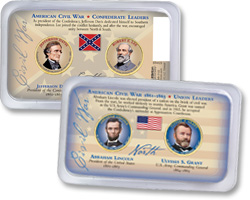 Civil War Presidential Dollar Set
